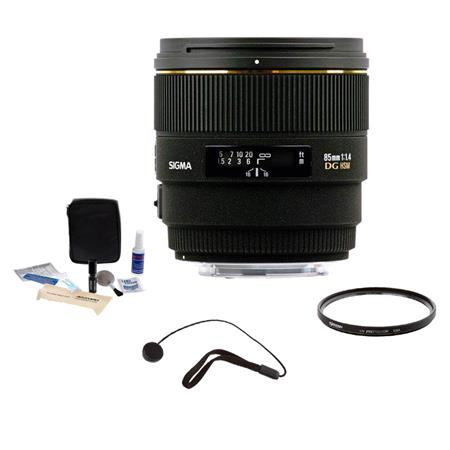 Sigma f EX DG HSM Lens Kit PentaAF Cameras Tiffen UV Filter Lens Cap Leash Professional Lens Cleanin 110 - 559