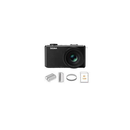 Sigma DP Merrill Digital Camera Megapixel FOVEON Direct Image Sensor f Lens Bundle Lowepro Holster S 206 - 268