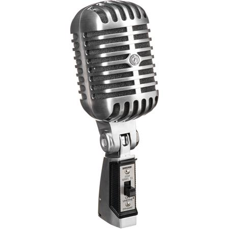 Shure SH Series Iconic UNIDYNE Vocal Microphone to Hz Frequency Response 93 - 554
