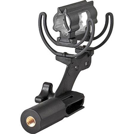 Shure AM CC Rycote Lyre Mount CCA VPS and VPM End Address Shotgun Condenser Microphones 58 - 37