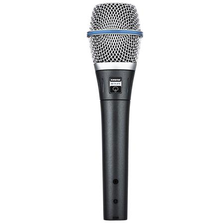 Shure BETA A Super Cardioid Condenser Handheld Vocal Microphone 135 - 538