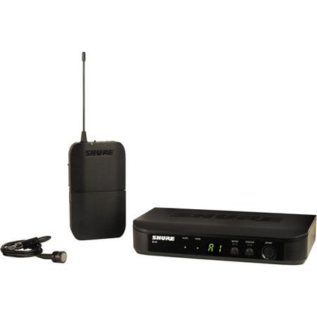 Shure BLXPG Bodypack Wireless System Includes BLX Transmitter BLX Single Channel Receiver PG Lavalie 121 - 128