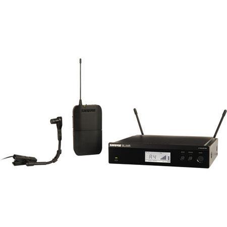 Shure BLXRB Rackmount Instrument Wireless System Includes Beta HC Mic BLX Transmitter BLXR Receiver  49 - 84