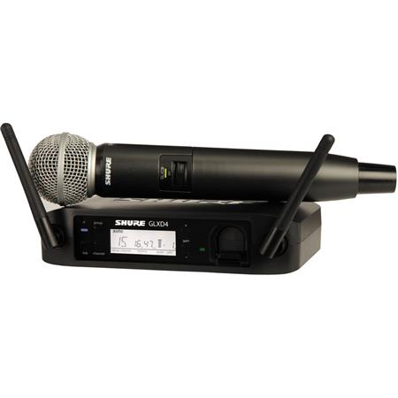Shure GLXD Wireless Receiver System GLXD Handheld Transmitter and SM Microphone 2 - 183