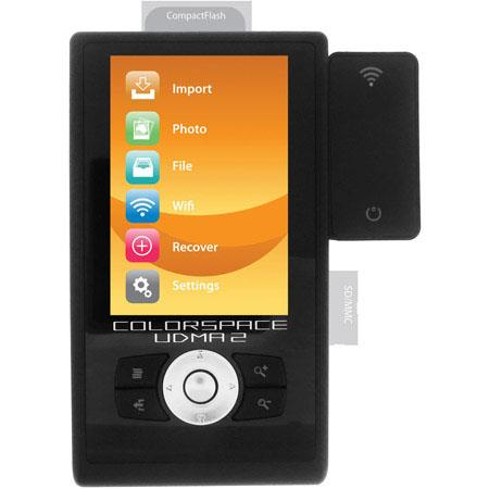Sanho TB HyperDrive COLORSPACE UDMA Multimedia Player Storage Device 120 - 711