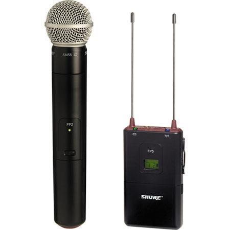Shure FPSM L FP Wireless Handheld System FP Diversity Receiver FP Handheld Transmitter SM Cardioid C 172 - 42