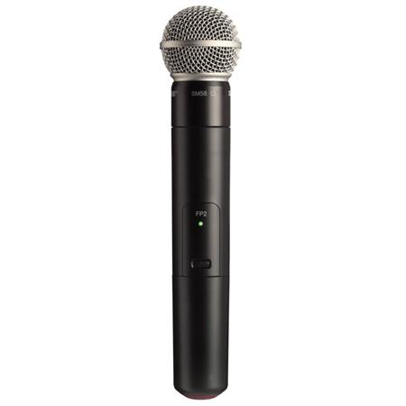 Shure FPSM G Wireless Handheld Transmitter SM Cardioid Microphone Capsule MHz Band 101 - 138