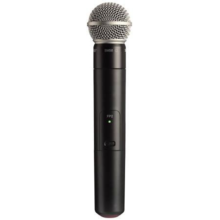 Shure FPSM H Wireless Handheld Transmitter SM Cardioid Microphone Capsule H MHz Band 97 - 43