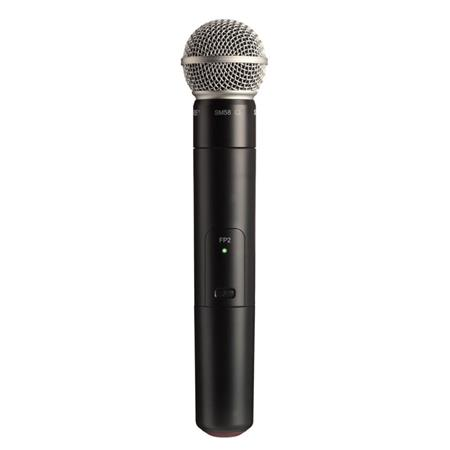 Shure FPSM J Wireless Handheld Transmitter SM Cardioid Microphone Capsule J MHz Band 97 - 43