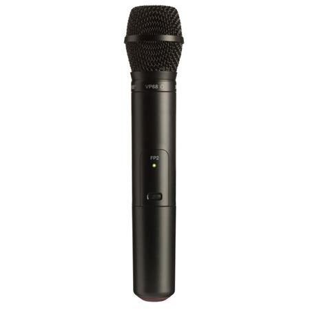 Shure FPVP G Wireless Handheld Transmitter VP Omnidirectional Microphone Capsule MHz Band 86 - 493