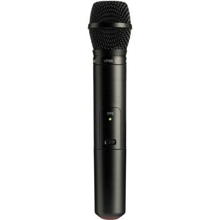 Shure FPVP H Wireless Handheld Transmitter VP Omnidirectional Microphone Capsule H MHz Band 86 - 493