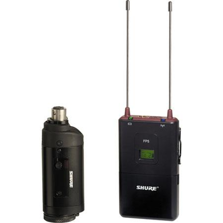Shure FP J Portable Wireless System FP Plug on Transmitter and FP Receiver J MHz Band 153 - 304