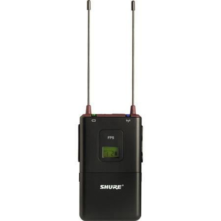 Shure FP J Portable Wireless Receiver J MHz Band 122 - 58