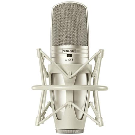 Shure KSMA Multi Pattern Large Dual Diaphragm Side Address Condenser Microphone Cristal 79 - 383