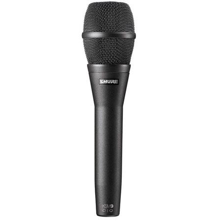 Shure KSM Handheld Dual Diaphragm Cardioid Supercardioid Vocal Microphone Charcoal 130 - 134