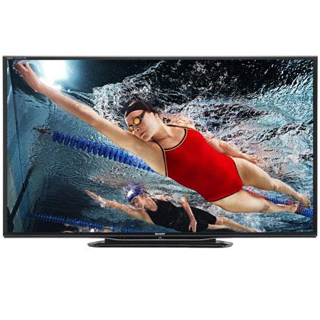 Sharp Aquos Quattron LC LEU p Smart LED HDTV Hz Refresh Rate HDMI USB Input W W W Speaker Output Pow 161 - 251