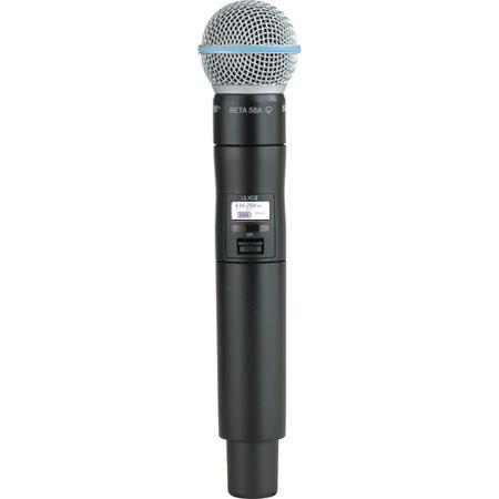 Shure ULXDB J Handheld Transmitter Beta A Microphone J Band MHz 32 - 616