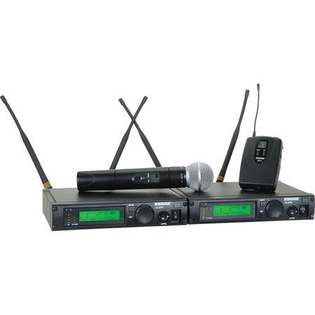 Shure ULXP M Wireless Dual Channel Mixed Microphone System M MHz 98 - 90