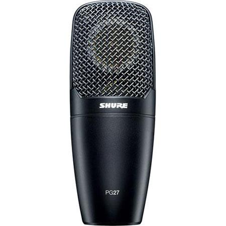 Shure PG LC Cardioid Side Address Condenser Multi Purpose Microphone Pin XLR Output Connector 56 - 319