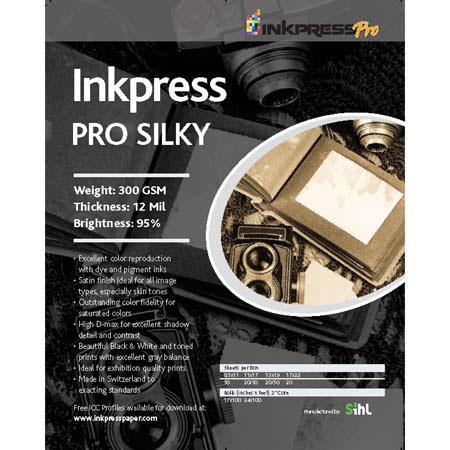Inkpress Pro Silky Silky Inkjet Paper mil gsmRoll 61 - 535