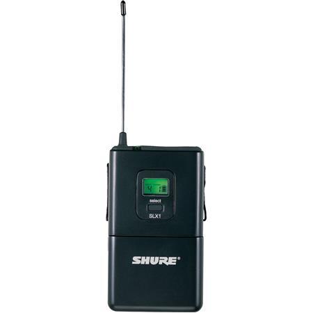 Shure SLX H Wireless Bodypack Transmitter H Band MHz 124 - 52