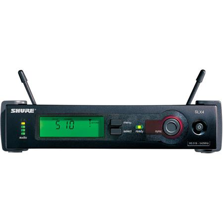 Shure SLX J Diversity Receiver Antennas Power Supply J MHz 66 - 517