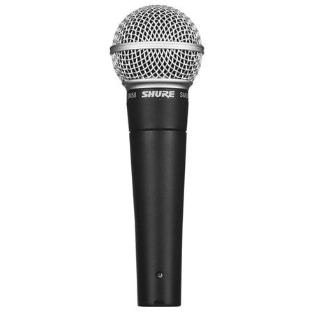 Shure SM CN Cardioid Dynamic Handheld Wired Microphone XLR Cable 157 - 24
