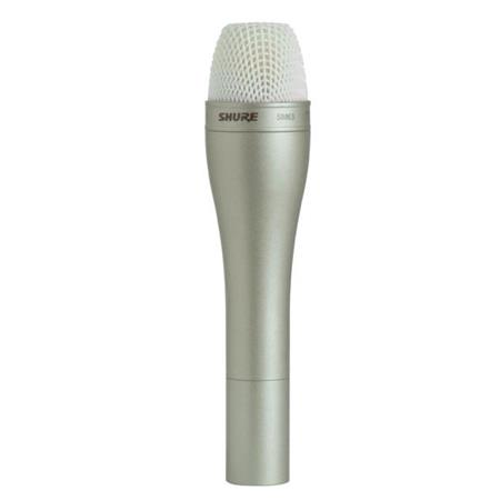 Shure SM Omni Directional Dynamic Handheld Wired Microphone Champagne 40 - 38