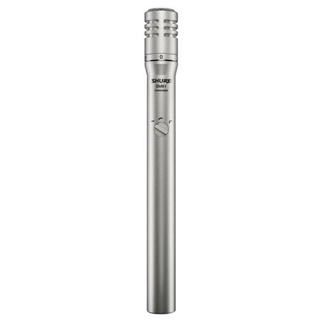 Shure SM LC Cardioid Condenser Handheld Wired Microphone db Attenuator 17 - 443