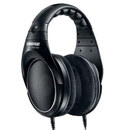 Shure SRH Professional Open Back Stereo Headphones Frequency Range Hz kHz Neodymium Drivers 82 - 750