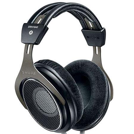 Shure SRH Professional Open Back Stereo Headphones Frequency Range Hz kHz Neodymium Drivers 44 - 339