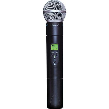 Shure ULX G Handheld Transmitter SM Microphone Head Band MHz 55 - 550