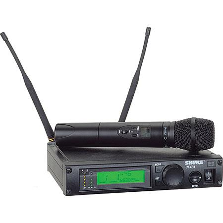 Shure ULXP J Wireless Handheld Microphone System Includes ULXP Diversity Receiver ULX Handheld Trans 121 - 412