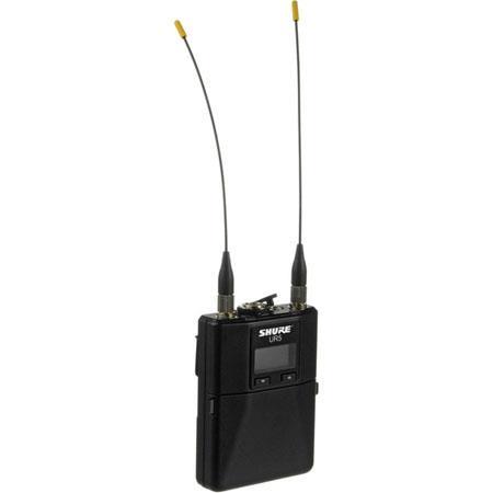 Shure UR G Portable Diversity Receiver Hz kHz Audio Frequency Response G MHz RF Carrier Range 303 - 52