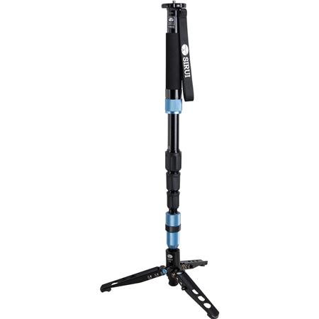 Sirui P S Aluminum PhotoVideo Monopod extends to Supports lbs 103 - 157