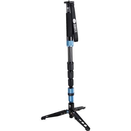 Sirui P S Carbon Fiber PhotoVideo Monopod MaHeight lbs Load Capacity Legs Sections 346 - 67