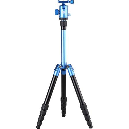 SIRUI T Section Aluminum Tripod MaHeight Supports lbs Blue 84 - 133