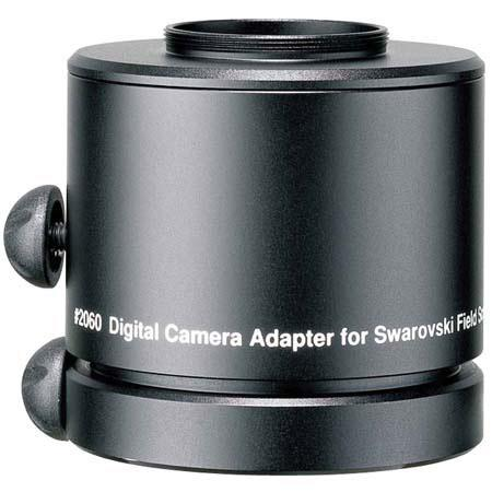 Swarovski Optik DCA Digital Camera Adapter Adapts Digital Cameras and Camcorders Non interchangeable 10 - 552
