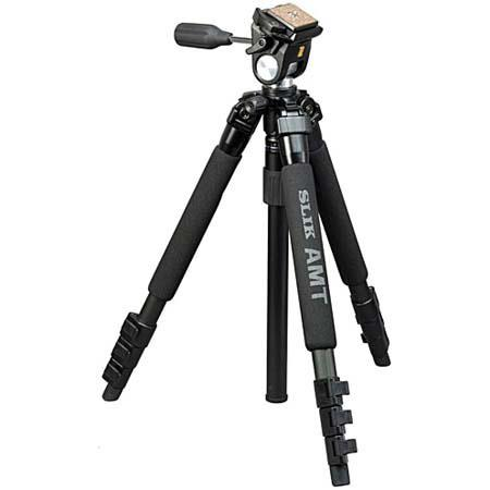 SLIK PRO EZ Tripod Kit SH E Multi Action Pan Head 105 - 530