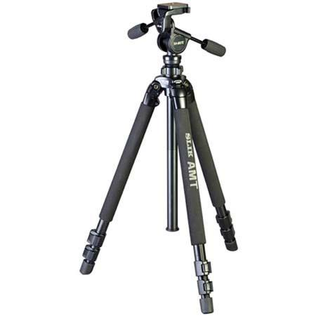 SLIK PRO DX Tripod Legs SH E Heavy Duty Way Pan Head Case 90 - 524