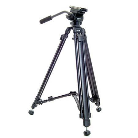 Slik Daiwa DST Lightweight Aluminum Stage Video Tripod System Fluid Head Maximum Height Supports to  73 - 735