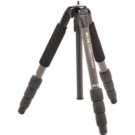 Slik Pro CF Carbon Fiber Tripod Legs Only Maximum Height lbs Load Leg Sections 74 - 710