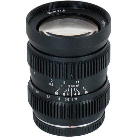 SLR Magic HyperPrime Cine T Lens Micro Four Thirds Cameras Built Lens Gear 82 - 417