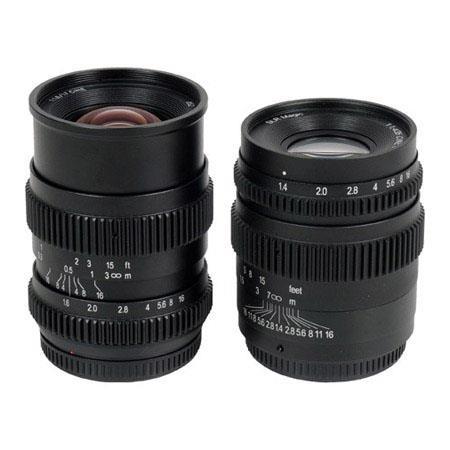 SLR Magic Lens Bundle T and f Cine Lens Micro Four Thirds Mount 261 - 109