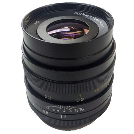 SLR Magic f Hyperprime Lens Sony NEXs E Mount 144 - 242