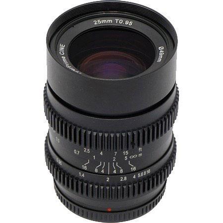 SLR Magic T Hyperprime Cine Lens Micro Four Thirds MFT Mount 153 - 580