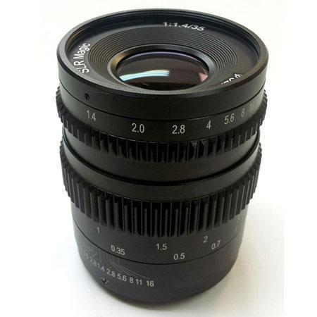 SLR Magic f lens Sony E Mount 120 - 702