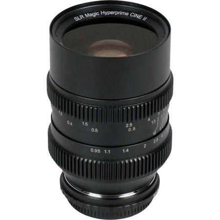 SLR Magic Hyperprime Cine LensMount 242 - 662