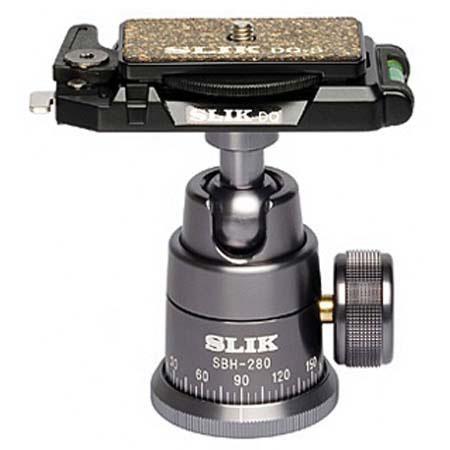Slik SBH DQ Ball Head Quick Release Maximum Load Lbs  87 - 318