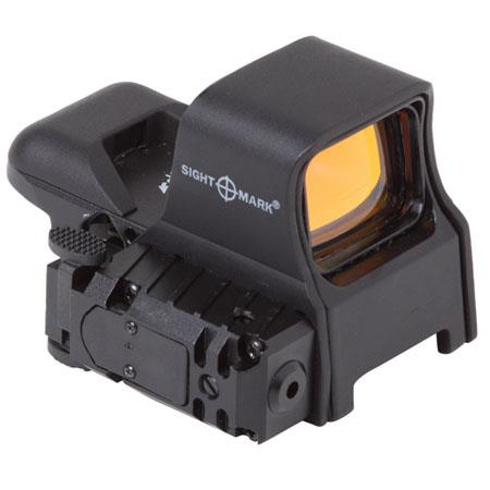 Sightmarkmm Ultra Dual Shot Pro Spec NV QD Open Style RefleSight Four Reticle Patterns Picatinny Mou 304 - 50